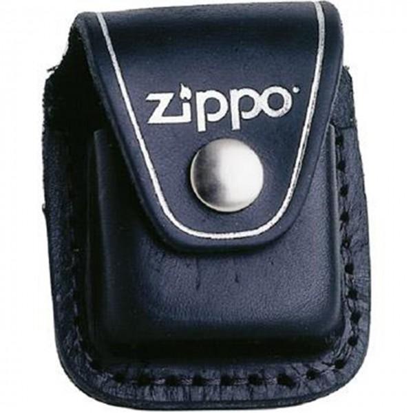 Zippo Leder-Gürteltasche schwarz mit Klipp