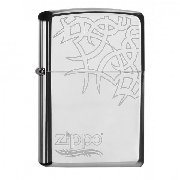 Zippo Tribal Tattoo