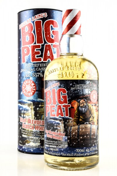 Big Peat Christmas Edition 2019 Douglas Laing 53,7%vol. 0,7l