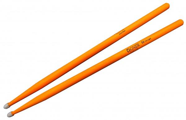 Agner UV GLOW Drumstick 5A Hickory (orange)