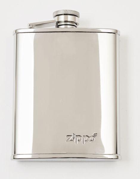 Zippo Flask 177ml / 6oz - Flachmann aus Edelstahl, poliert