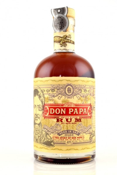 Don Papa 40%vol. 0,7l Premium-Rum