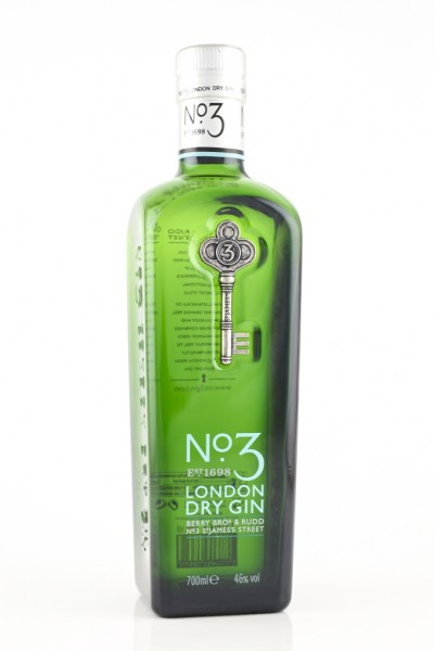 No. 3 - London Dry Gin inkl. Textgavur