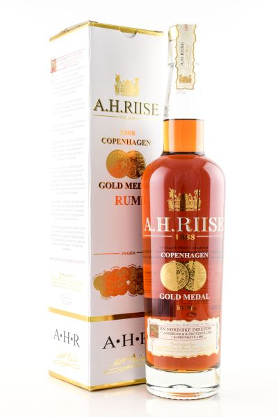 A.H. Riise 1888 Gold Medal Rum 40%vol. 0,7l