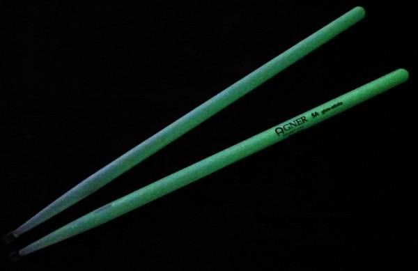 Agner GLOW Drumstick 5A Hickory (gelbgrün)