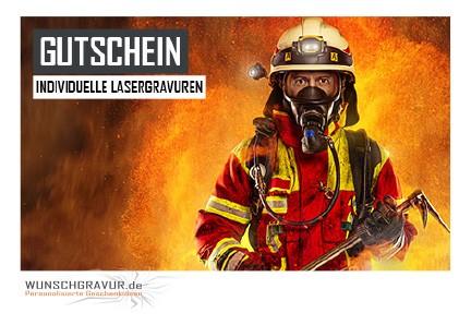 Gutschein Motiv Feuerwehr