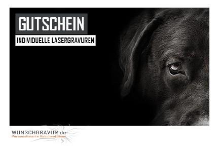 Gutschein Motiv Hund