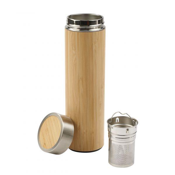 Doppelwandiger Thermobecher aus Bambus -flexx-