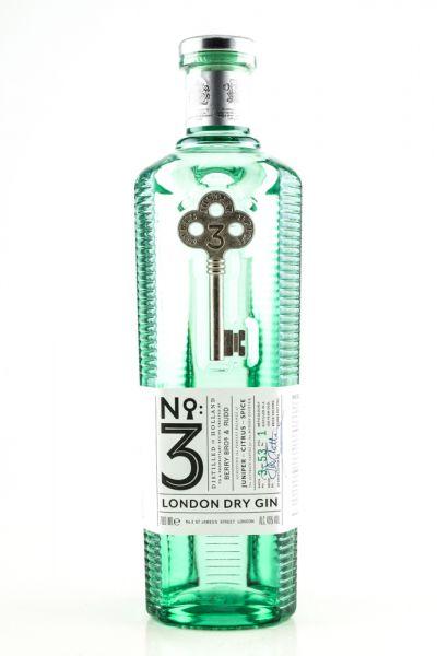 No. 3 - London Dry Gin inkl. Textgravur