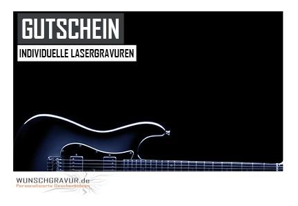 Gutschein Motiv Gitarre