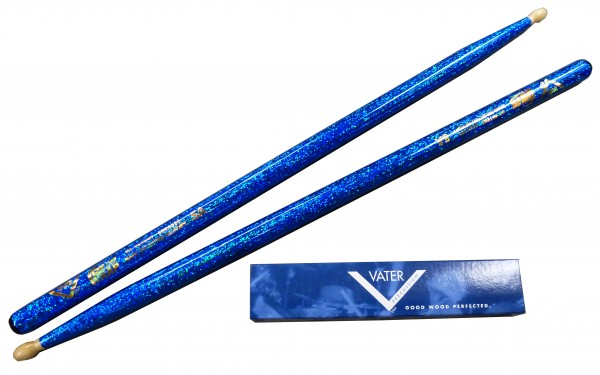 VATER 5A Color Wrap - Blue Sparkle