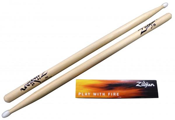 Zildjian 2BN Hickory Sticks -Nylon Tip