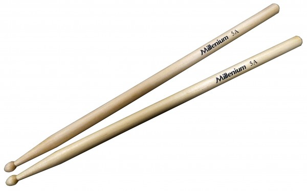 Millenium 5A Maple Drumsticks -Wood-